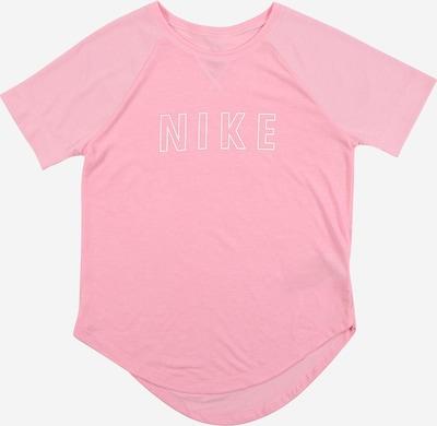 NIKE Functioneel shirt 'Trophy' in de kleur Lichtroze / Wit, Productweergave