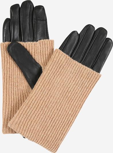 ONLY Prstové rukavice - béžová / černá, Produkt