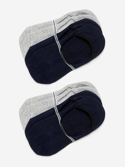 Marc O'Polo Bodywear Low Cuts ' 4-Pack In Shoe Socks ' in navy / grau, Produktansicht