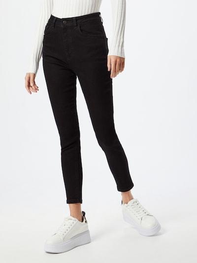 NU-IN Jeans in de kleur Zwart, Modelweergave