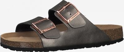 TAMARIS Pantolette in dunkelgrau, Produktansicht