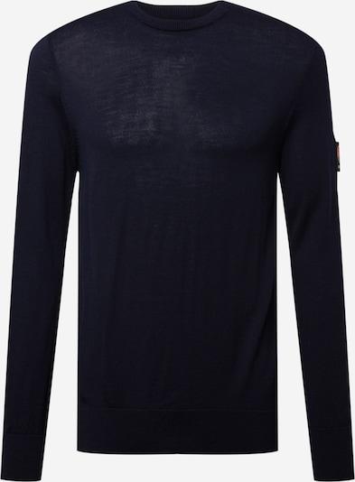 RÆBURN Pullover in beige / navy / orange / schwarz, Produktansicht