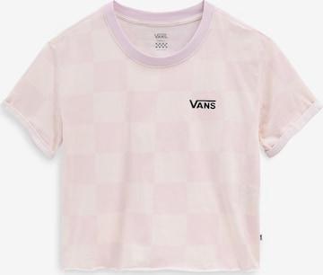 VANS Shirt in Roze
