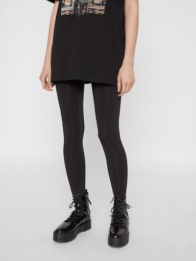 PIECES Leggings 'London' i sort, Modelvisning