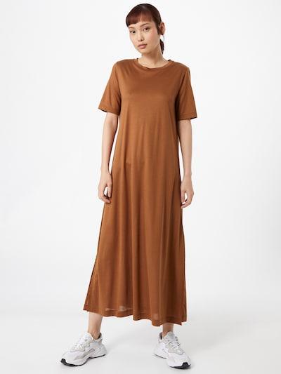 DRYKORN Kleid 'JANNIE' in rostbraun, Modelansicht