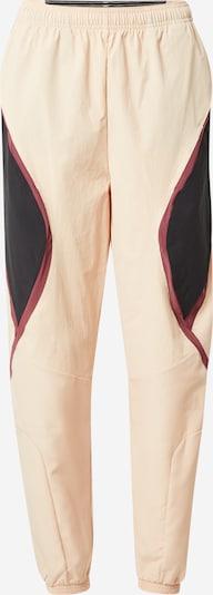 Pantaloni sport ADIDAS PERFORMANCE pe culoarea pielii / albastru / roșu merlot, Vizualizare produs