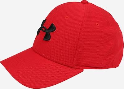 Șapcă sport 'Blitzing 3.0' UNDER ARMOUR pe roșu / negru, Vizualizare produs