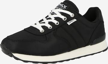 ONLY Rövid szárú edzőcipők 'SAHEL' - fekete