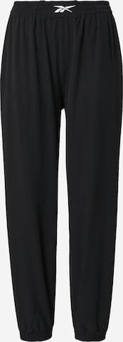 Pantalon de sport Reebok Sport en noir