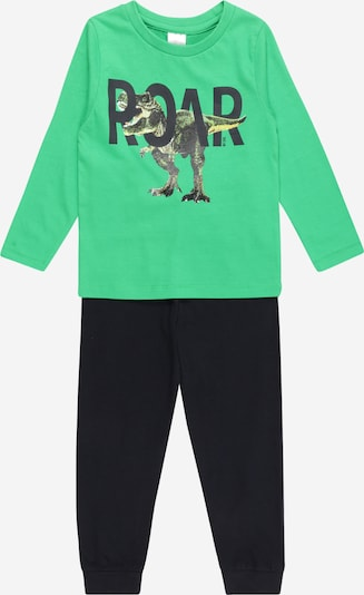 STACCATO Pyjama in nachtblau / apfel, Produktansicht