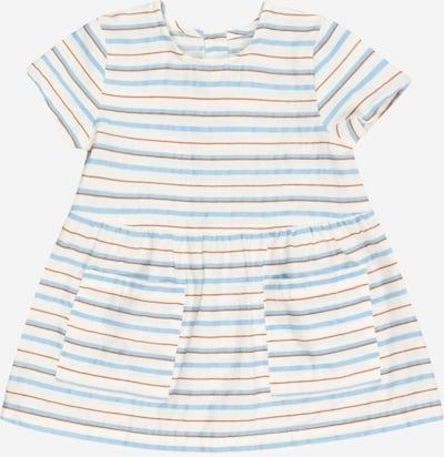 UNITED COLORS OF BENETTON Sukienka w kolorze jasnoniebieski / brązowy / białym, Podgląd produktu