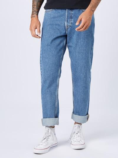 JACK & JONES Jeans 'CHRIS' i blue denim, Modelvisning