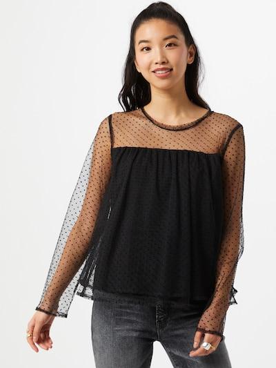 Banana Republic Bluse in schwarz, Modelansicht