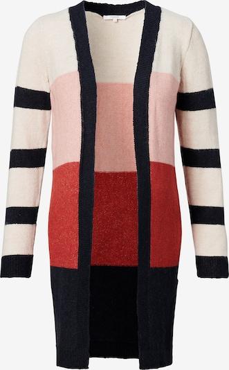 Geacă tricotată 'Anna' Noppies pe albastru cobalt / roz pastel / roșu / alb, Vizualizare produs