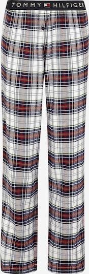 TOMMY HILFIGER Schlafanzughose in rot / schwarz / weiß, Produktansicht
