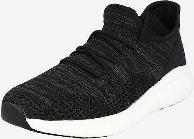 Sneaker low Bianco pe negru, Vizualizare produs
