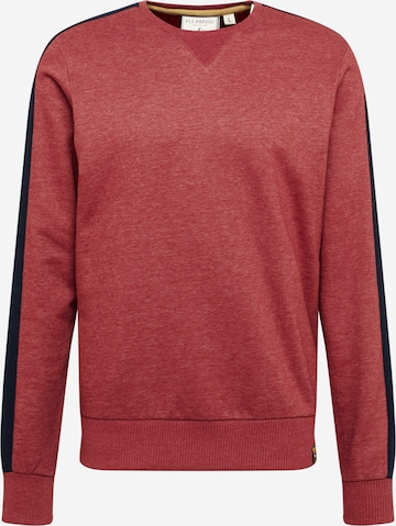 Fli Papigu Sweatshirt 'Mausebär' in Rot