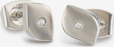 Boccia Titanium Ohrringe in silber, Produktansicht