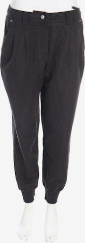 Mandarin Pants in L in Black