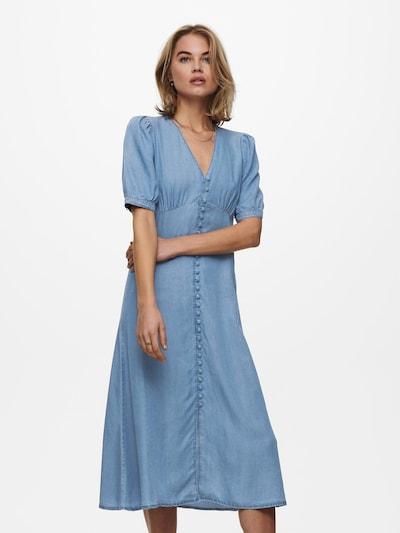 ONLY Košeľové šaty 'Daisy' - modrá denim, Model/-ka