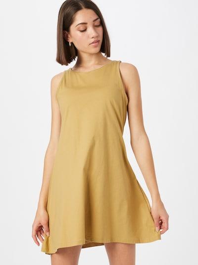 Degree Kleid 'Swing' in goldgelb, Modelansicht