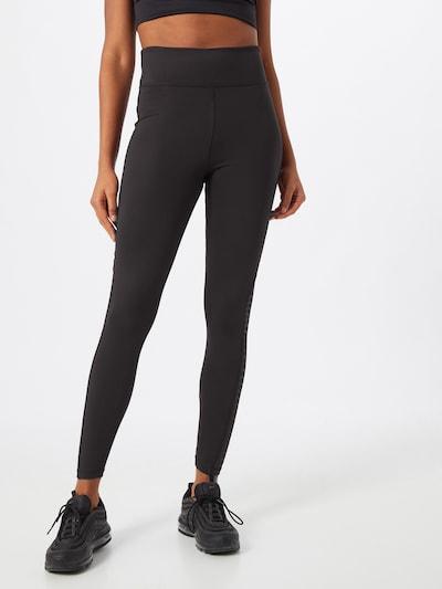 ABOUT YOU Pantalon 'Mina' en noir, Vue avec modèle