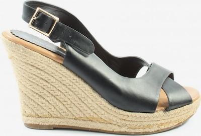 UNBEKANNT High Heel Sandaletten in 42 in schwarz / wollweiß, Produktansicht