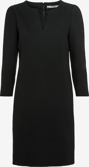 HALLHUBER Kleid mit V-Ausschnitt in schwarz, Produktansicht