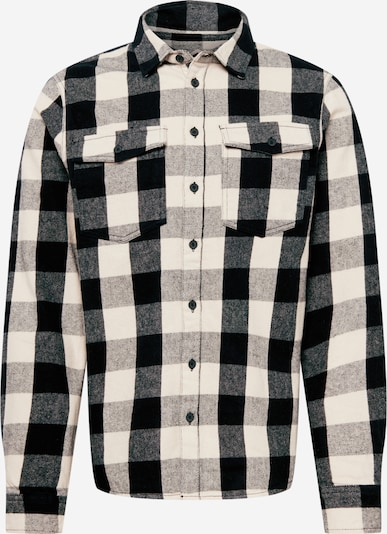 BLEND Hemd 'Ambitious' in beige / schwarz, Produktansicht