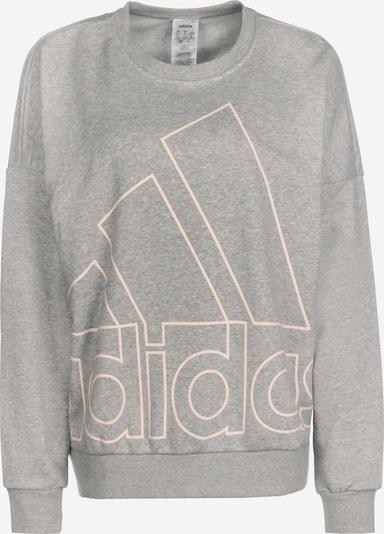 ADIDAS PERFORMANCE Sportief sweatshirt in de kleur Grijs / Lichtroze, Productweergave