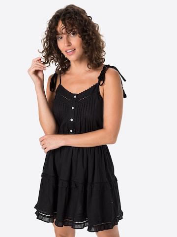 Tally Weijl Summer Dress 'SDRCOSTACY' in Black