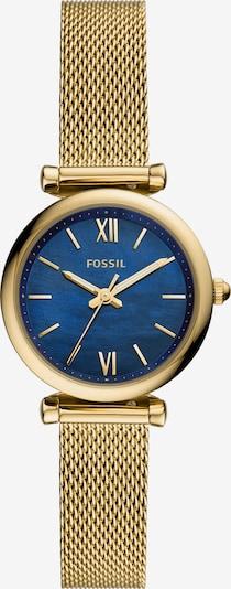 királykék / arany FOSSIL Analóg órák, Termék nézet