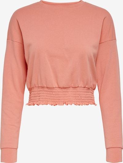 ONLY Sweatshirt 'Ela' in lachs, Produktansicht