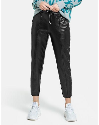 """""""Chino"""" stiliaus kelnės iš TAIFUN , spalva - juoda, Modelio vaizdas"""