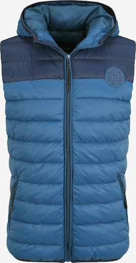BLEND Bodywarmer 'Nippo' in de kleur Blauw, Productweergave