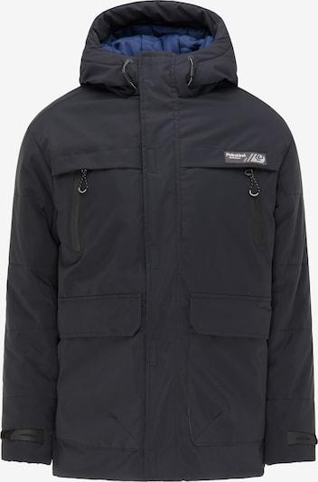 Petrol Industries Winterjas in de kleur Blauw / Nachtblauw / Wit, Productweergave
