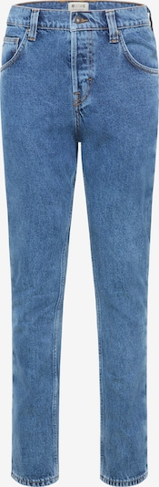 MUSTANG Hose ' Chicago Tapered ' in blau: Frontalansicht