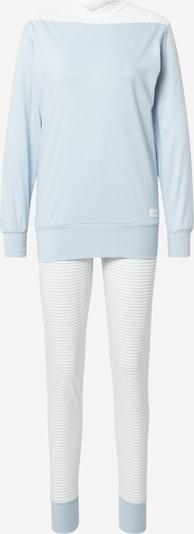 CALIDA Pyjama in de kleur Lichtblauw / Wit, Productweergave