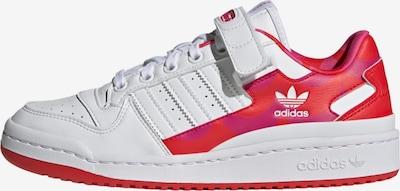 ADIDAS ORIGINALS Ниски маратонки 'Forum' в розово / червено / бяло, Преглед на продукта