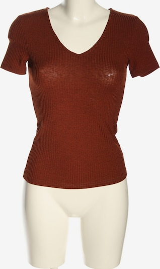 Vera & Lucy V-Ausschnitt-Shirt in XS in hellorange, Produktansicht