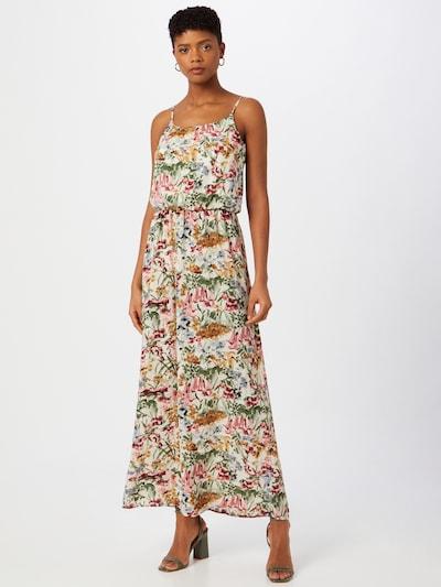 ONLY Vestido de verano 'WINNER' en mezcla de colores / offwhite, Vista del modelo