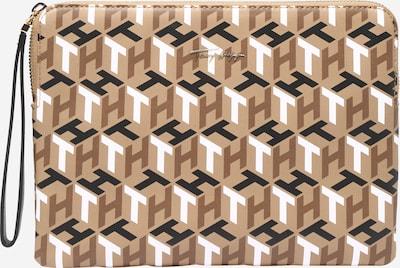TOMMY HILFIGER Tablethülle in braun / hellbraun / schwarz / weiß, Produktansicht
