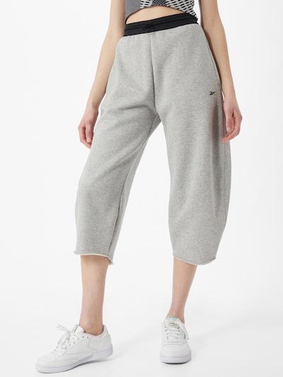 Reebok Sport Športové nohavice - sivá / čierna, Model/-ka