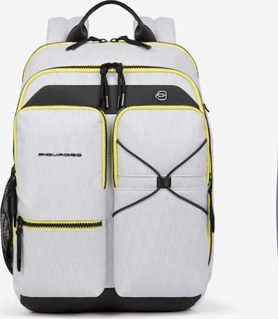 Piquadro Rucksack RFID 38 cm Laptopfach in weiß, Produktansicht