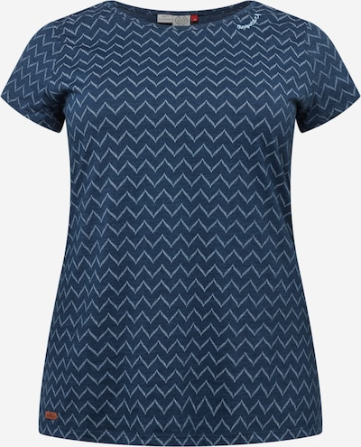 Ragwear Plus Shirt in navy / weiß, Produktansicht