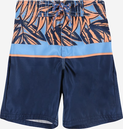 OshKosh Plavecké šortky 'SATSUMA' - dymovo modrá / tmavomodrá / mandarínková, Produkt