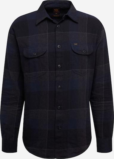 Lee Overhemd in de kleur Donkerblauw / Gemengde kleuren: Vooraanzicht