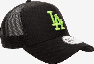 NEW ERA Cap in neongrün / schwarz, Produktansicht