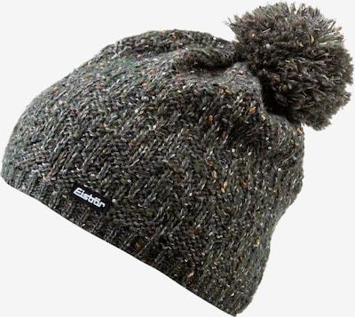 Eisbär Mütze 'Tilia Pompon' in oliv / schwarz / weiß, Produktansicht