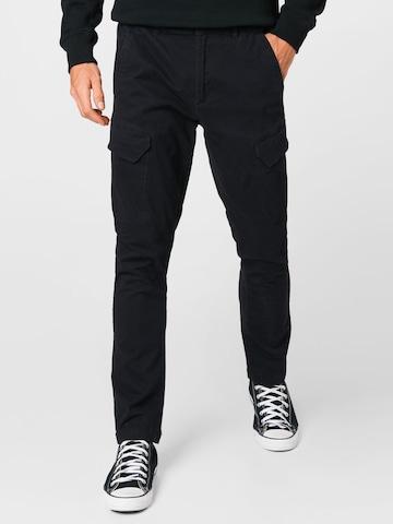 Kronstadt Карго панталон 'Ryan' в черно